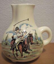 Vintage Polo Scene Horse Ewer Pitcher Creamer ?Salesman Sample? *Japan*