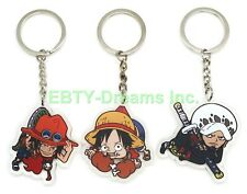 One Piece Anime Mascot Swing PVC Strap Keychain Charm ~ Trafalgar Law @20201