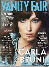 vanity fair n. 14 carla bruni patty pravo ryan gosling pete townshend who moda