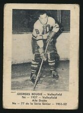 1951-52 Laval Dairy (QSHL) #77 GEORGES BOUGIE (Valleyfield)