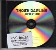 (CM20) Those Darlins, Screws Get Loose - 2012 DJ CD
