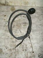 TRIUMPH SPEED TRIPLE 1050 THROTTLE CONTROL CABLES CABLE