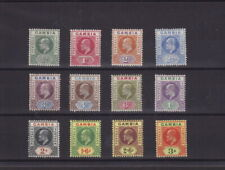 GAMBIA 1902-05 KE7 Complete Set to 3s MINT Hinged SG45-56 Cat: £300 (L007)