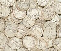 🔥 Walking Liberty Coin Lot - CHOOSE HOW MANY - 90% Silver Half Dollar Coins 🔥