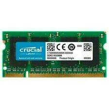 CRUCIAL CT25664AC800 2GB DDR2 800Mhz PC2-6400 200-pin SODIMM Notebook Memory 2 G
