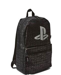 NEXT  Black PlayStation Backpack Rucksack  School Bag ** Brand New * NEW RRP £24