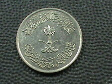 SAUDI ARABIA  5 Halala 1979 ( 1400 ) UNCIRCULATED  $ 2.99 maximum shipping in US