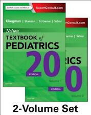 Nelson Textbook of Pediatrics Set by Robert M. Kliegman 2016 2 Volume Set