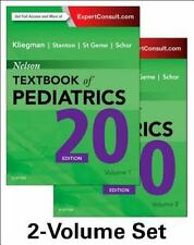 Nelson Textbook of Pediatrics, 2-Volume Set, 20e with Online Pass Code Also