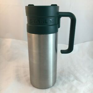STANELY TRAVEL MUG Cup Coffee Tea Stainless Steel with Handle 16oz 47L Green