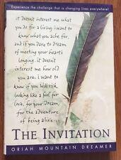 The Invitation by Oriah Mountain Dreamer & Mountain Oriah 1999, Hardcover s#6503
