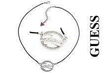 GUESS Damenkette Damenschmuck Halskette Collier Strassstein NEU & OVP UBN12103