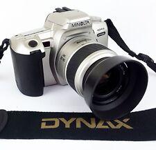 Minolta Dynax 404si AF Film SLR + 35-80mm Lens - Tested - Working - Camera Case