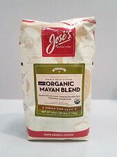 JOSE'S GOURMET COFFEE ORGANIC MAYAN BLEND MEDIUM DARK ROAST 2.5 LBS