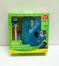NEW Cookie Monster  5 IN 1 KIT Case Stylus + more  for Nintendo DS Lite DSi XL