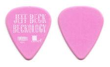Jeff Beck Beckology Promotional Pink Guitar Pick - 1991