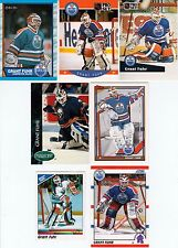 20 + Different GRANT FUHR cards lot 1989 - 1999 Oilers Leafs Sabres Blues HOF