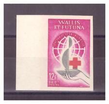 WALLIS ET FUTUNA .  N° 168. 12 F  CROIX  ROUGE    ND  NEUF  **. SUPERBE