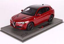 Alfa Romeo Stelvio Quadrifoglio Rosso Competiz.With Showcase BBR 1:18 BBRC1830AV