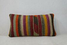 8''x16'' Pillow,striped Pillow,Small Pair Pillow Covers,Natural Pillows 23x42cm
