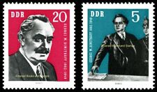 EBS East Germany DDR 1962 Georgi Dimitrov Гео̀рги Димитро̀в Michel 893-894 MNH**