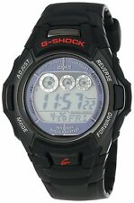 USED Casio Men's GWM530A-1 G-Shock Atomic Tough Solar Digital Watch Black MB6