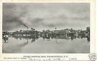 Antique Postcard Water Carnival Baldwinsville NY