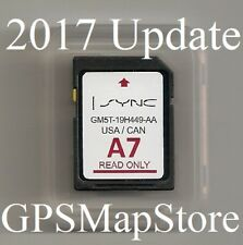 2014 to 2015 Ford Fiesta Transit Lincoln MKZ Navigation SD card U.S Canada Map