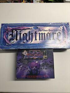 Nightmare VHS Horror Vintage Video Board Game Plus Vampire Nightmare 1V RARE