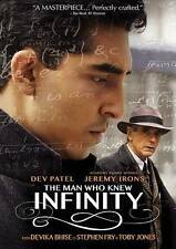 The Man Who Knew Infinity (DVD, 2016) BRAND NEW