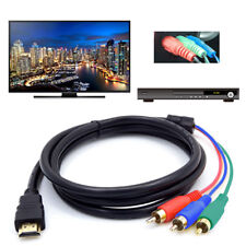 New 1080P HDMI Male to 3 RCA AV Cable Cord Converter Adapter Video Audio DVD