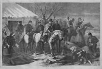 GENERAL CUSTER AND HIS TROOPS ARRIVE LATE TO SETTLER'S HOME KILLED BY SAVAGES