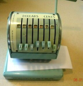 Paymaster Series X-550 Check Writer & Protector with Key