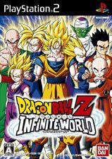 USED PS2 Playstation Japan Dragon Ball Z Infinite World