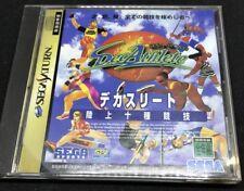 Decathlete For Japanese Sega Saturn System  *USA Seller*