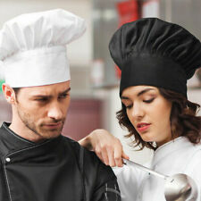 Chef Hat Baker Kitchen Cook Restaurants Catering Cap Men Women Black White House