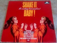 SHAKE IT BABY! 16 exciting beat numbers 1965 GER STEREO LP TONY SHERIDAN*DEEJAYS