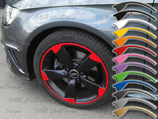 8-9x19 Zoll Felgen-Aufkleber für Audi 5-Arm ROTOR Felgen Rim Decal A3 TT RS3 8P