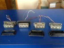 Used 12v Flashing Blue Marine Cop Patrol Lights LED