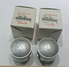 Kawasaki KZ440 Ltd Belt  Piston Set (2) New OEM 13001-1032
