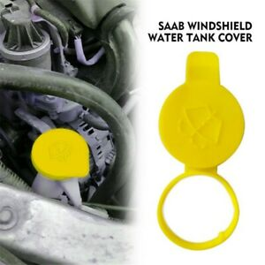 1x Washer Fluid Reservoir Cap Parts For Saab 9-3 9-5 9-3X Sweden 21347700 Yellow