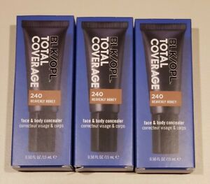 (3) Black Opal Total Coverage Face & Body Concealer #240 Heavenly Honey