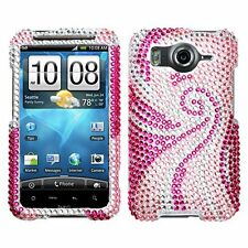 Bling Rhinestone Protector Case for HTC Inspire 4G - Phoenix Tail