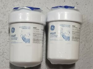 2 Pack Brand New & Sealed Genuine GE MWF Smartwater Fridge Water Filter