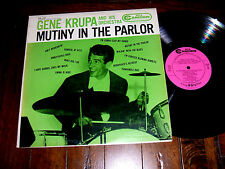 Gene Krupa - Mutiny In The Parlor 1958 LP RCA Camden Records CAL-340 VG+/EX