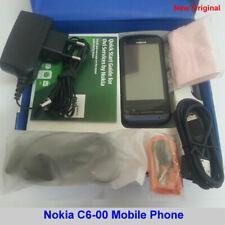 100% Genuine Original Nokia C6-00 5MP GSM 3G WiFi Unlock Mobile Phone box Black