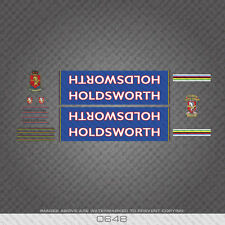 0648 Holdsworth Professional Bicycle Stickers - Decals - Transfers