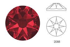 10x Swarovski® Crystals Flatback siam 2088 NoHF SS34 7mm Xirius Strass-Stein