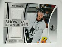 2019-20 UD SP Game Used Showcase Standouts MIRO HEISKANEN Dual Jersey #SS-MH