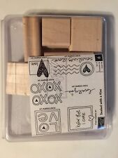 Stampin' Up! Sealed With A Kiss Stamp Set. New. 2007